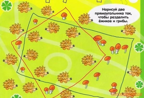 Загадка про грибы и ежиков! » RadioNetPlus.ru ...: http://www.radionetplus.ru/teksty/testy/5905-zagadka.html