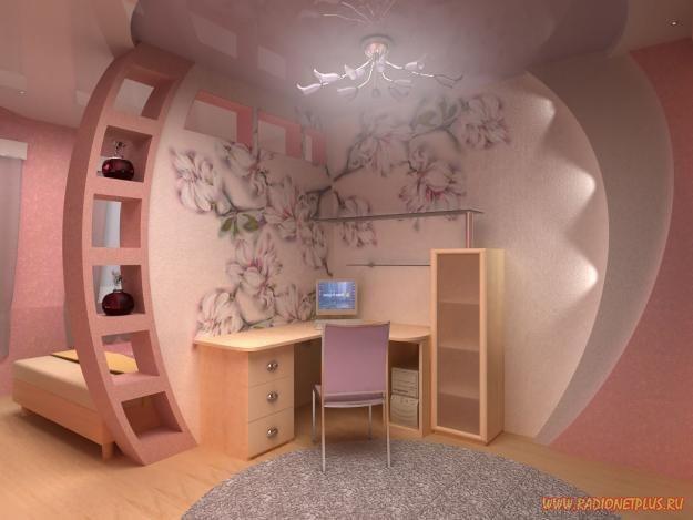 Как сделать ремонт в комнате девушки