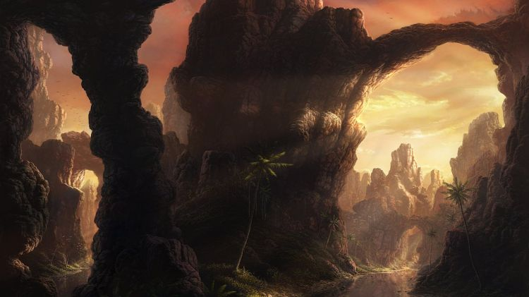 Таинственные и волшебные картины от художника Fel-X