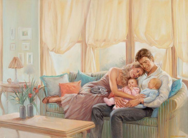 oohhwoww. jenechka:april-april: Нет большего счастья на всем белом свете, чем любящий муж и здоровые дети!