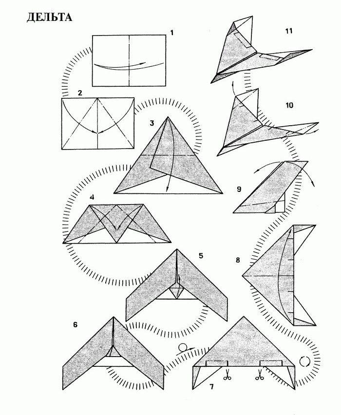 Разные модели бумажных
