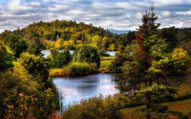Пейзаж, природа, река картинки 62584.