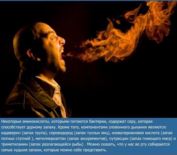 какой запах изо рта при болезни печени
