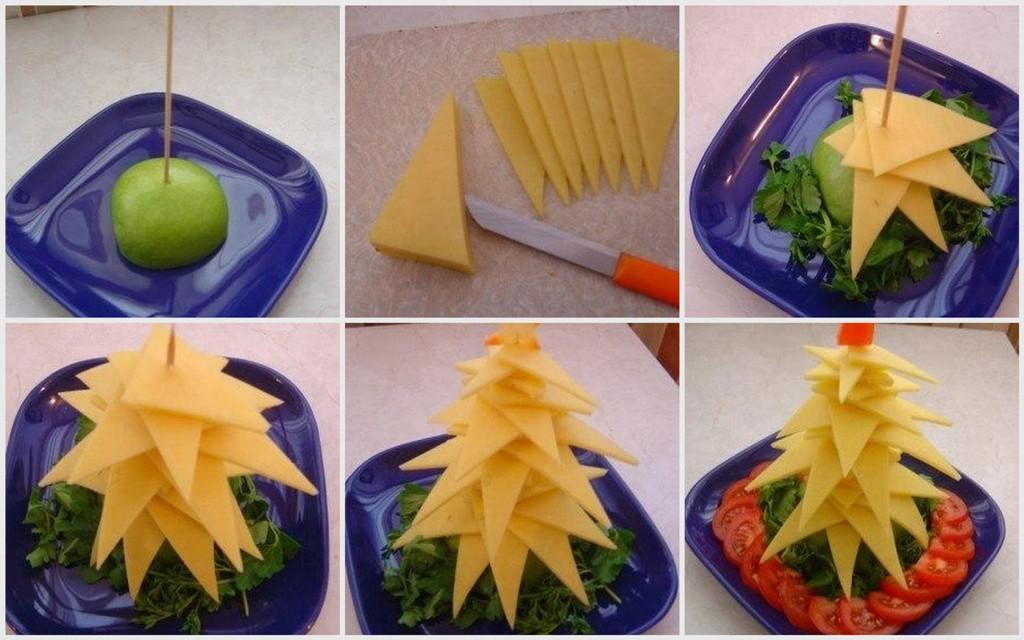 Идеи для новогоднего стола рецепты