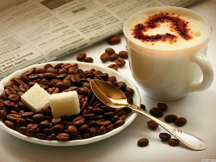 Красивые картинки на рабочий стол: Влюбленным в кофе... (19 картинок)