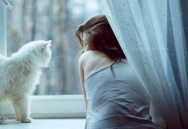 Девушки и кошки 27 фото видео