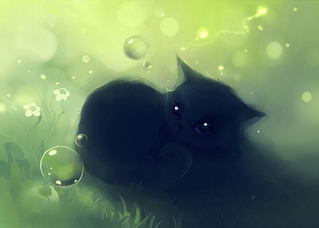Классные рисунки с кошками