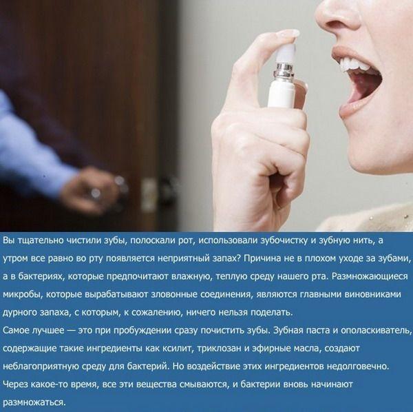 Почему необходимо чистить зубы утром (5 фото)