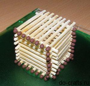 Как сделать спичечный замок