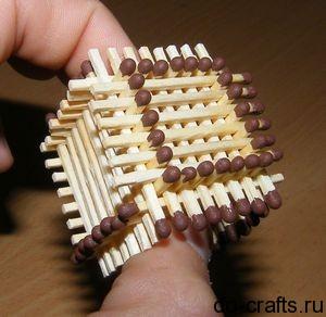 Как сделать спичечный замок фото 215