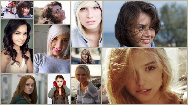 Как в фотошопе из брюнетки сделать блондинку