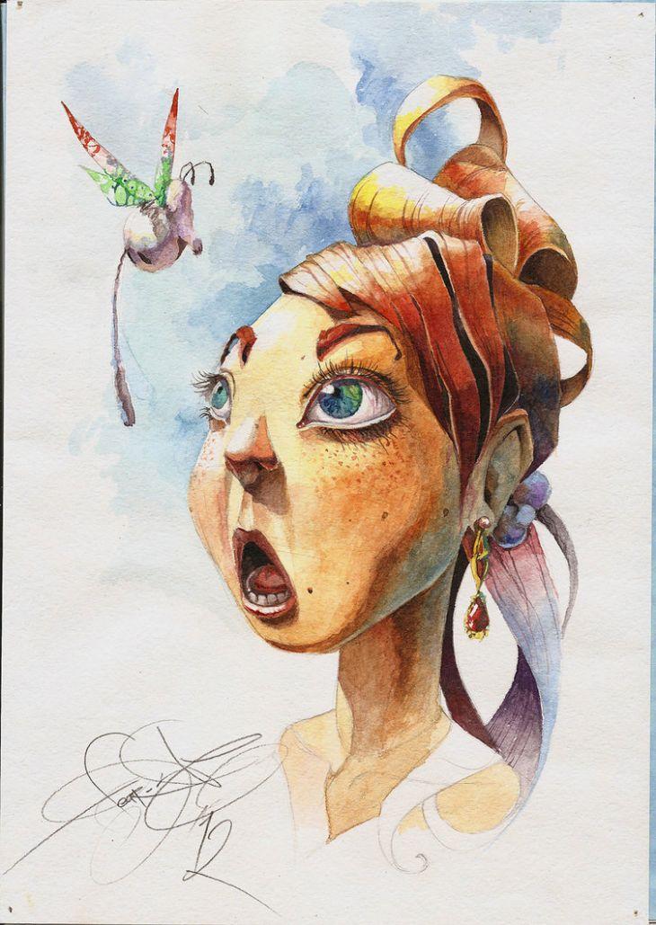 Иллюстрации от fear-sAs (10 рисунков)