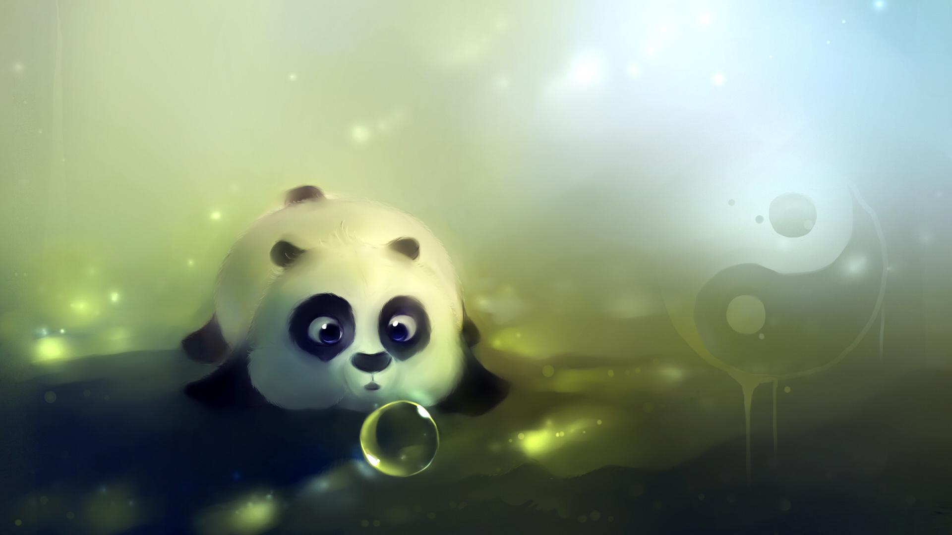 няшные картинки панды