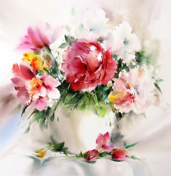 Картины с красивыми цветами 200
