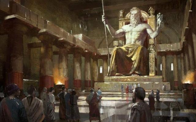 Чудеса Древнего мира. Статуя Зевса Олимпийского