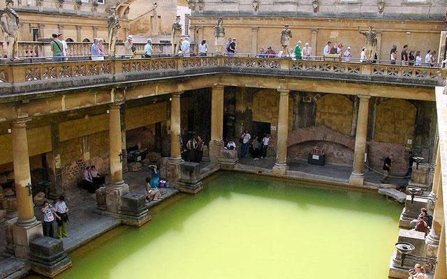 Чудеса Древнего мира. Римские бани