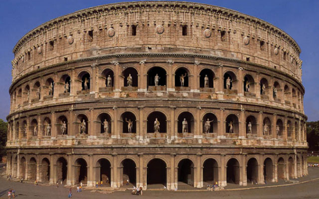Чудеса Древнего Мира. Колизей