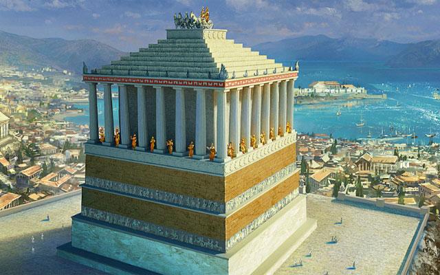 Чудеса Древнего мира. Галикарнасский мавзолей