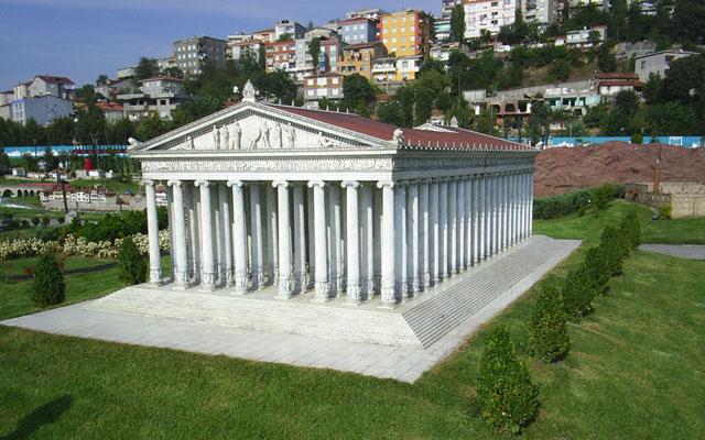Чудеса Древнего Мира. Храм Артемиды в Эфесе