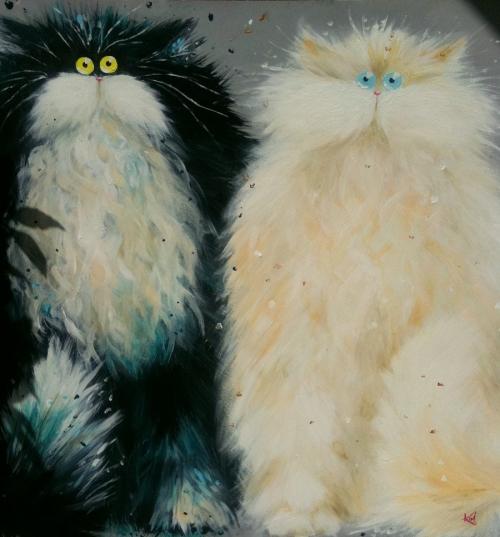 анимация котятами