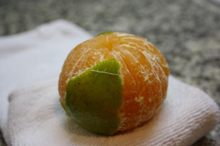Апельсины на самом деле не всегда оранжевые! :(