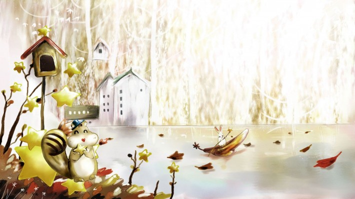 Красивые картинки для рабочего стола: Золотая осень (50 картинок)