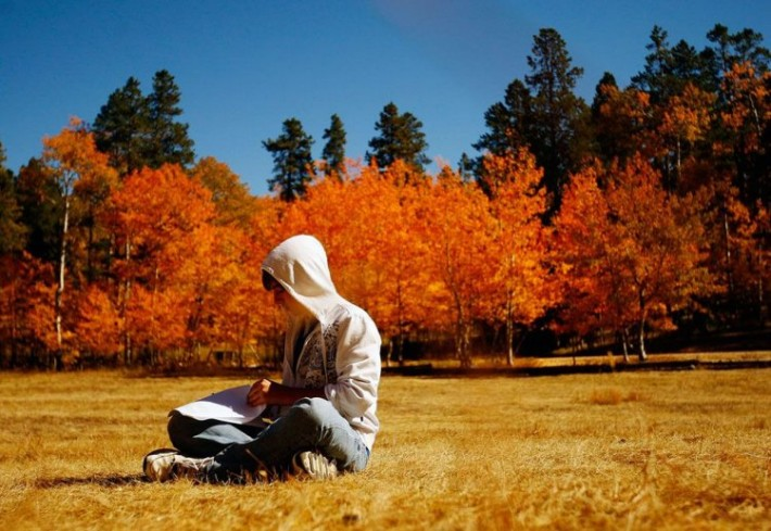 Осень настала - холодно стало