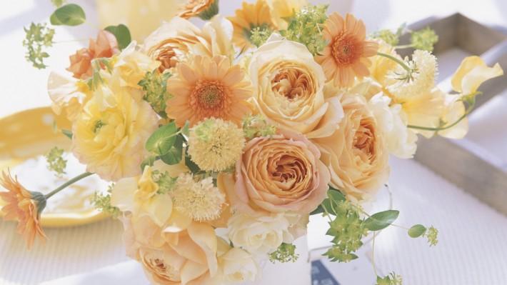 Цветы на день мама