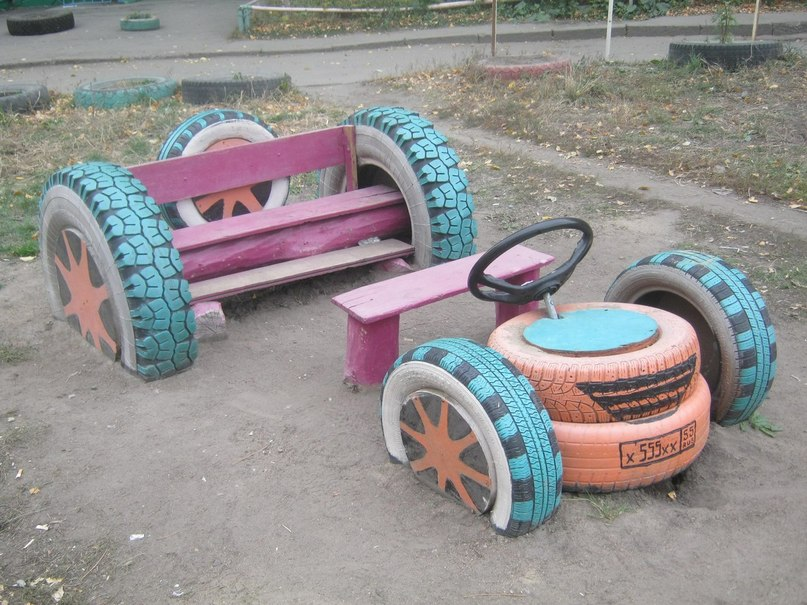 Машины своими руками с шин