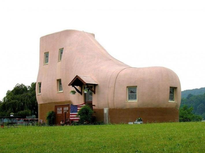 Самые необычные дома мира