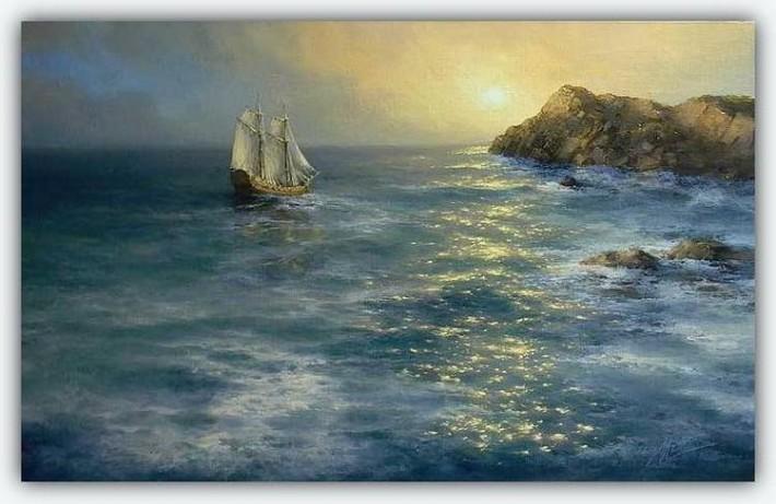 Прекрасные картины морских пейзажей от Михаила Иваненко