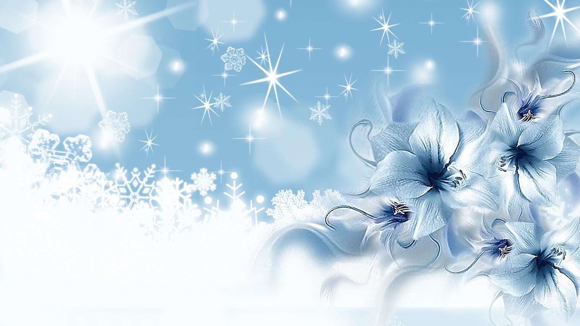 Фоны красивые голубые