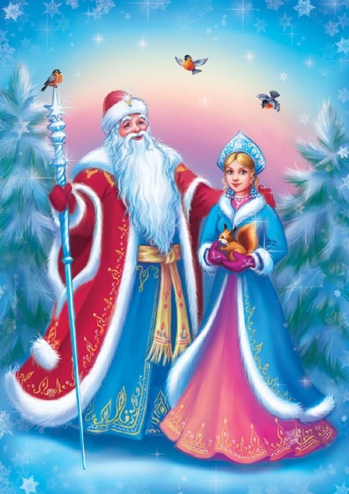 Обои Снегурочки для рабочего стола Скачать картинки Новый год