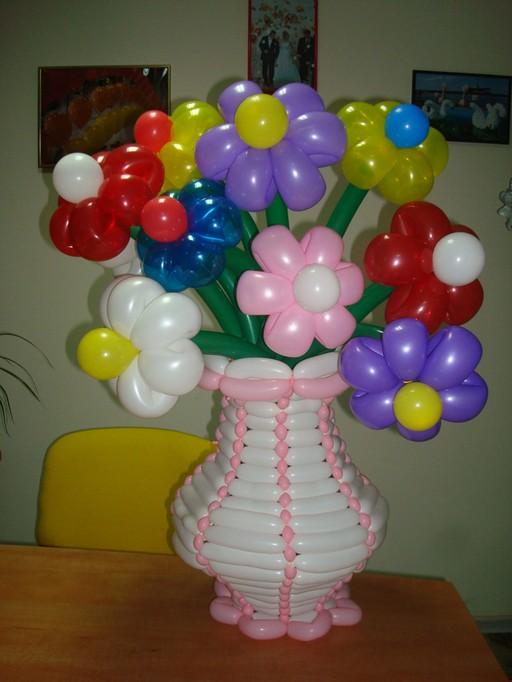 Поделки из воздушных шаров своими руками фото