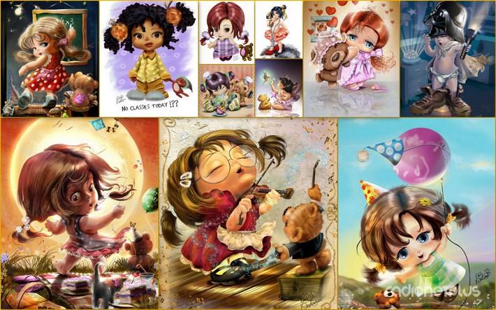 Живопись открытки детям