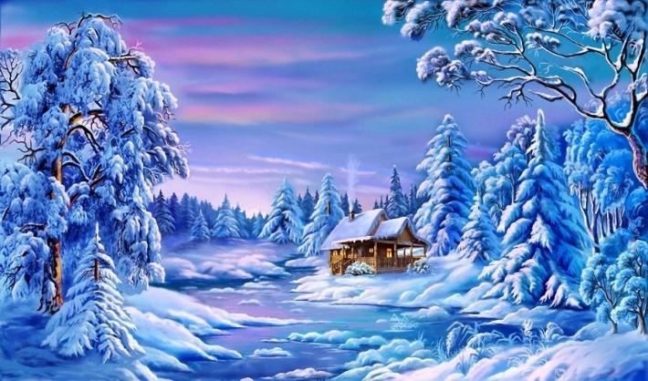 Прекрасная зимняя сказка Виктора Цыганова
