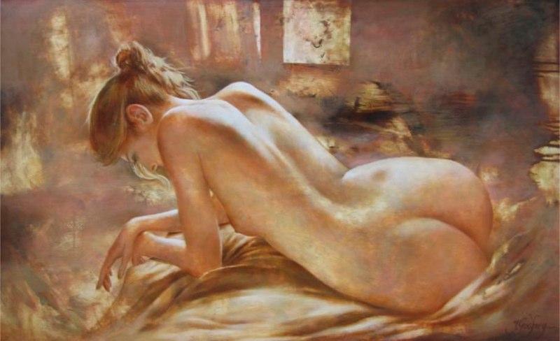 Сексуальная живопись самая