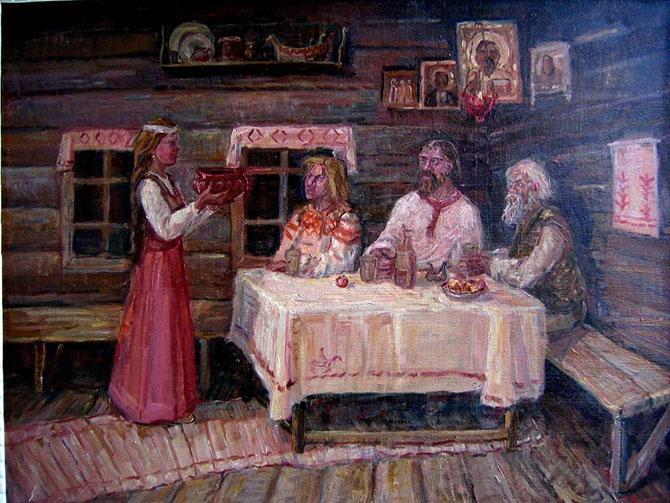 Обряды старых свадебных