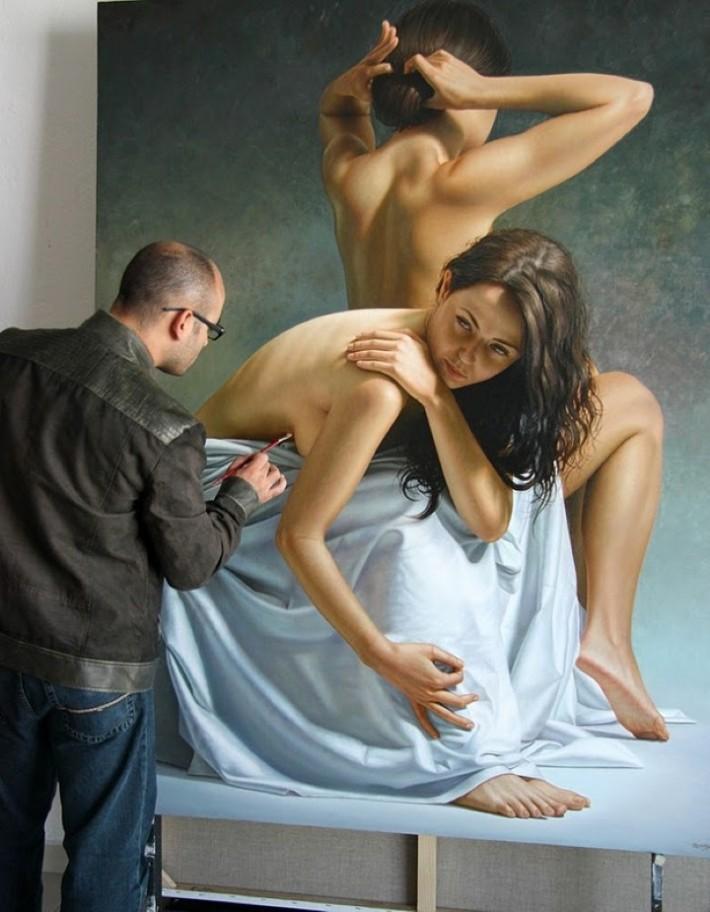 Женщины от Omar Ortiz (50 картин)