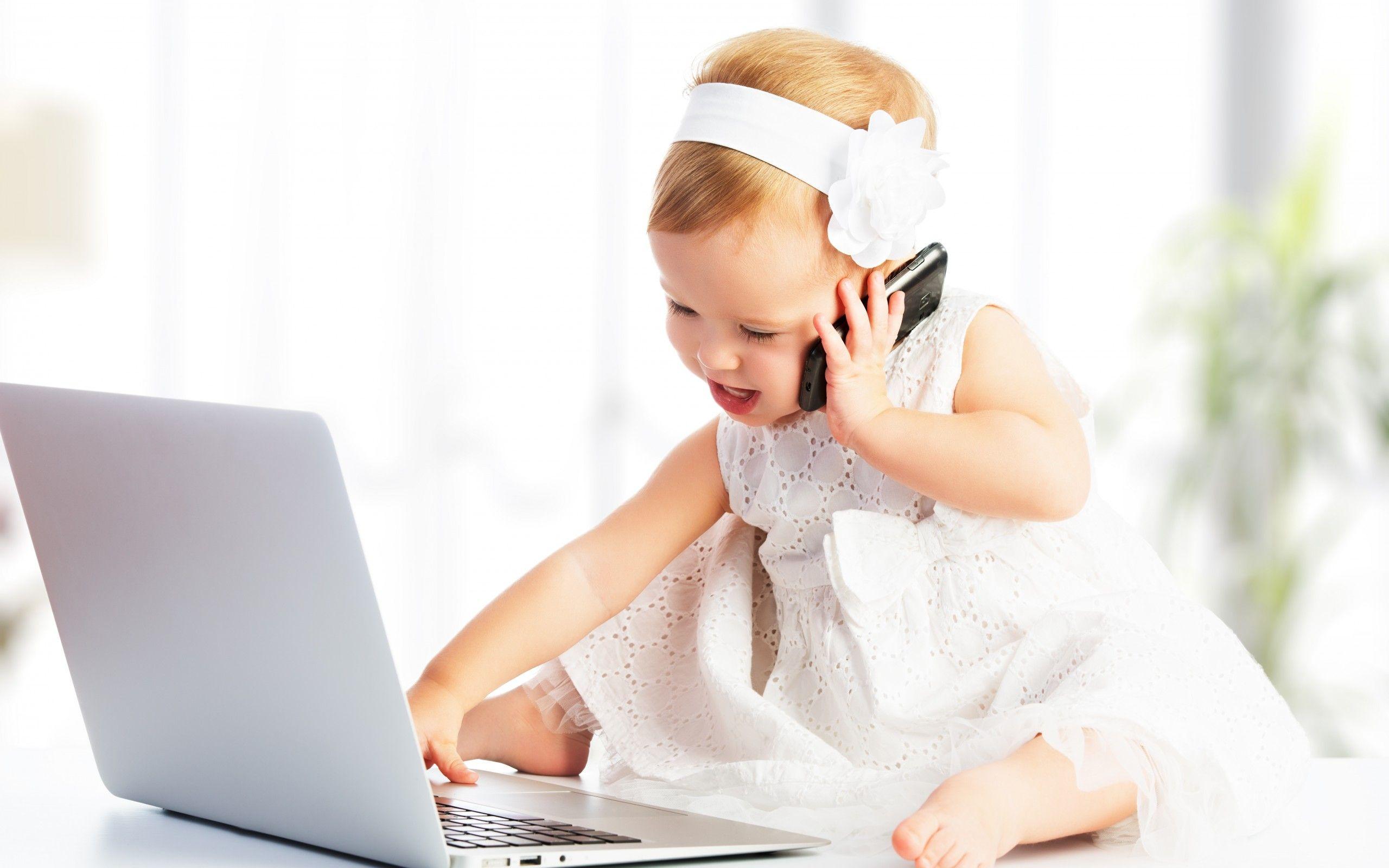 Фото красивых детей для телефона