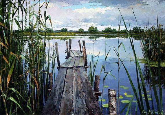 Русская природа в картинах дмитрия