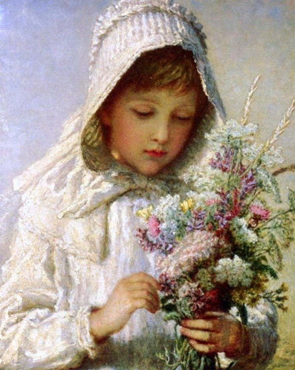 Karl Bauerle, Поси в прекрасных цветах