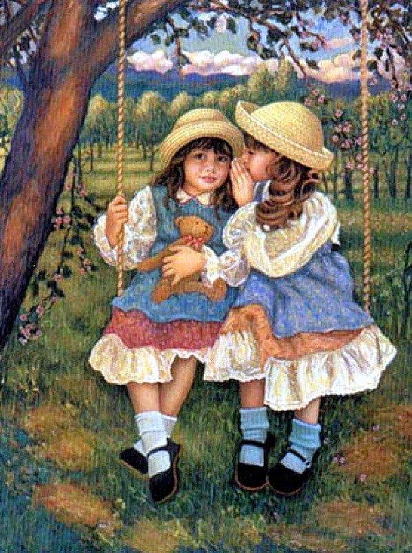 Художник Chantal Poulin, Сестры