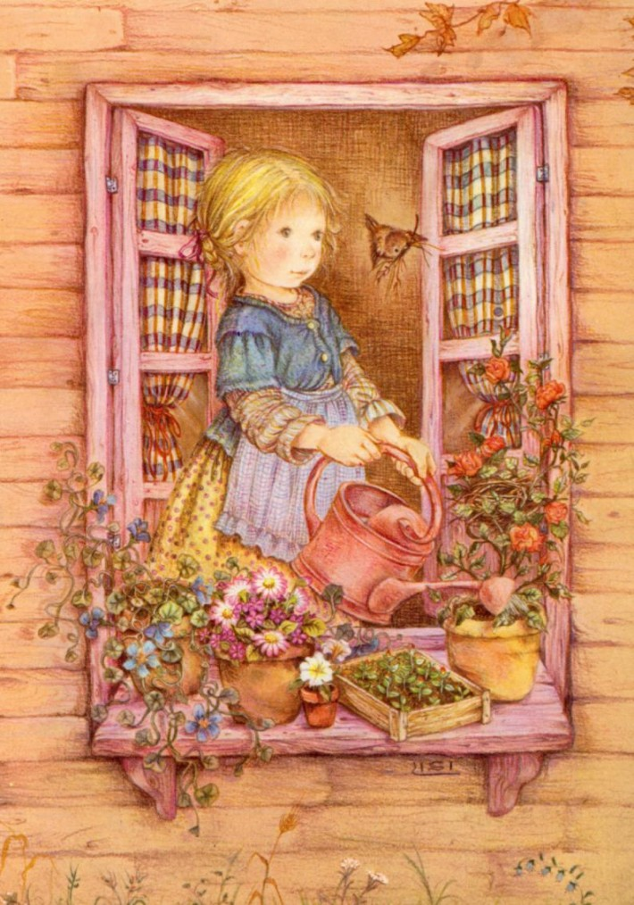 Волшебный мир детства в иллюстрациях Лизи Мартин
