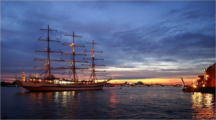 Питер - мой город! Белые ночи в Санкт-Петербурге.