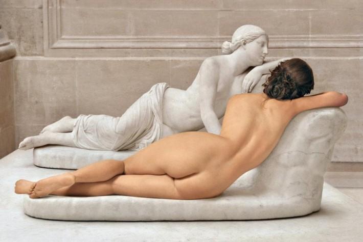 Красота женского тела в Мраморе Лувра (11 фото)