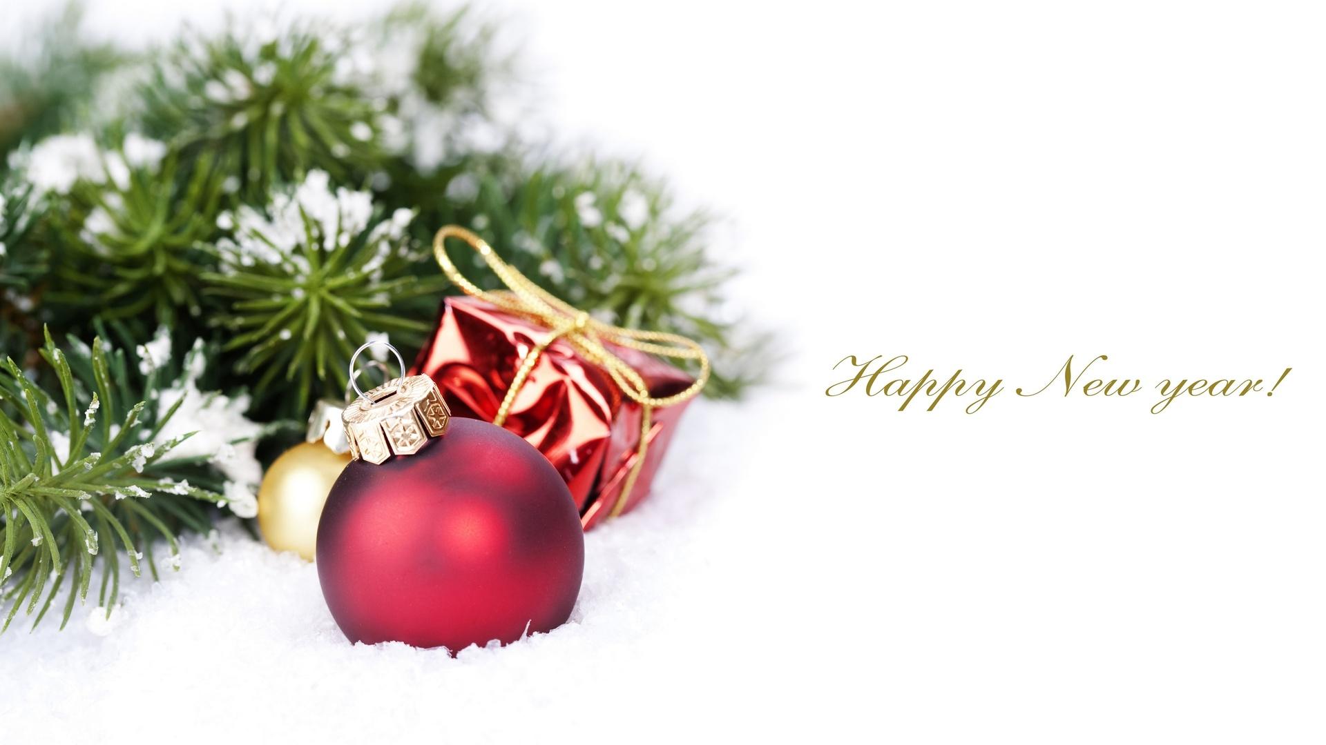 Обои композиция на белом фоне, Красивая рождественская. Новый год foto 11