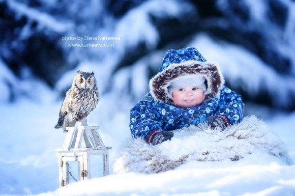 Волшебная зима картинки для детей