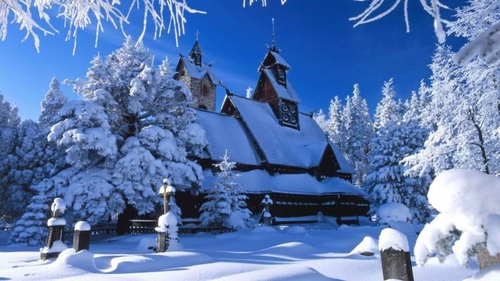 Красивые фото природы на рабочий стол: Зимнее утро 1920х1080 (25 фото)