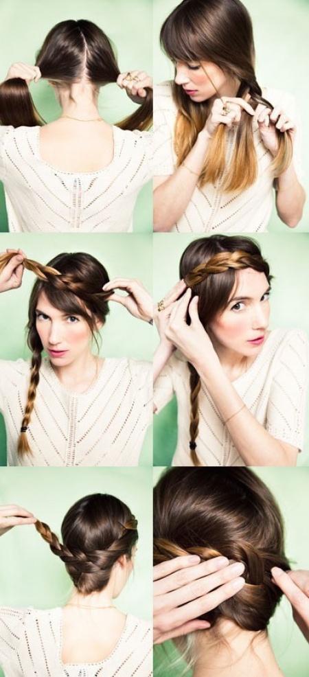 Красивые прически для средней длины волос для детей